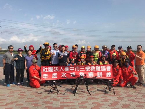 Solar energy storage system participates in rescue exercises